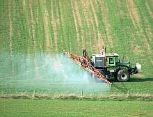 Tractor Spraying - picture courtesy of freephoto.com